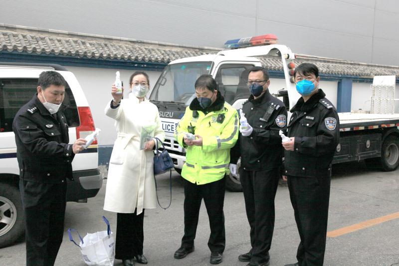 保护人民警察健康安全!馨立方捐赠北京市公安交通管理局物资