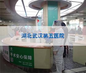 湖北武汉第五医院消毒除菌