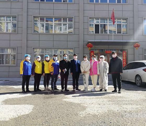 馨立方齐齐哈尔市加盟商为当地政法机关公益消毒杀菌