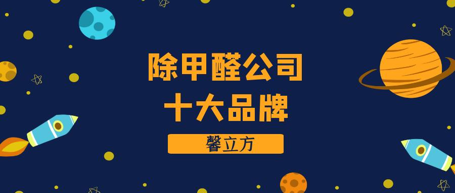 馨立方当选中国除醛网十大品牌
